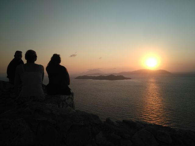 Blog Rhodes: Coucher de soleil à Kritinia Rhodes