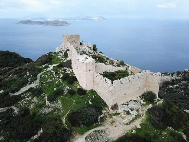 Visiter Rhodes: Château de Kritinia