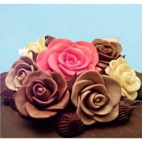 Sugar Flowers - Chocolate Roses