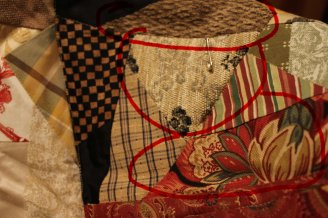 Mom's Quilt 018heavy fabric5