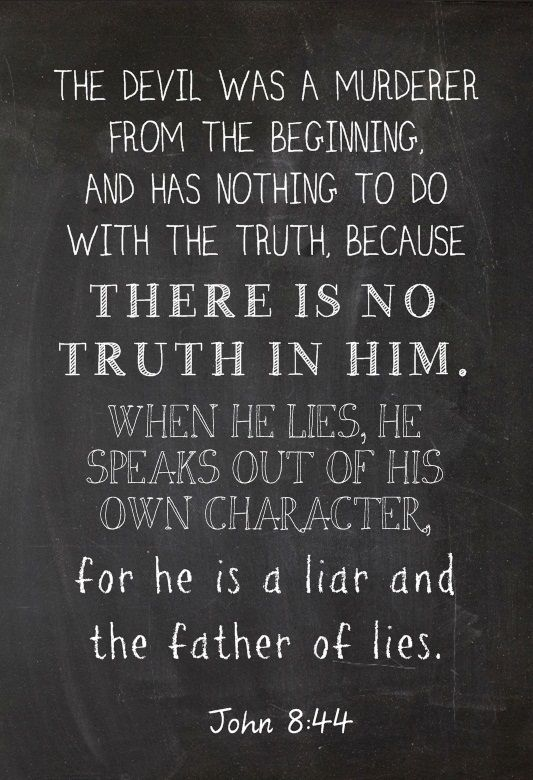 Fighting lies with truth means building community to help see the truth when we are blinded by lies.