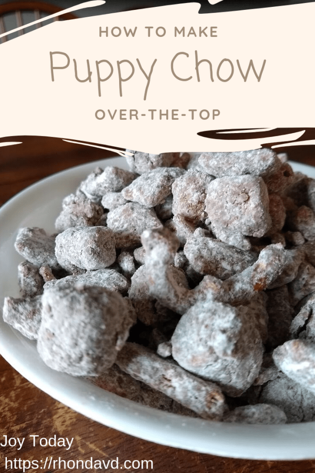 over-the-top puppy chow