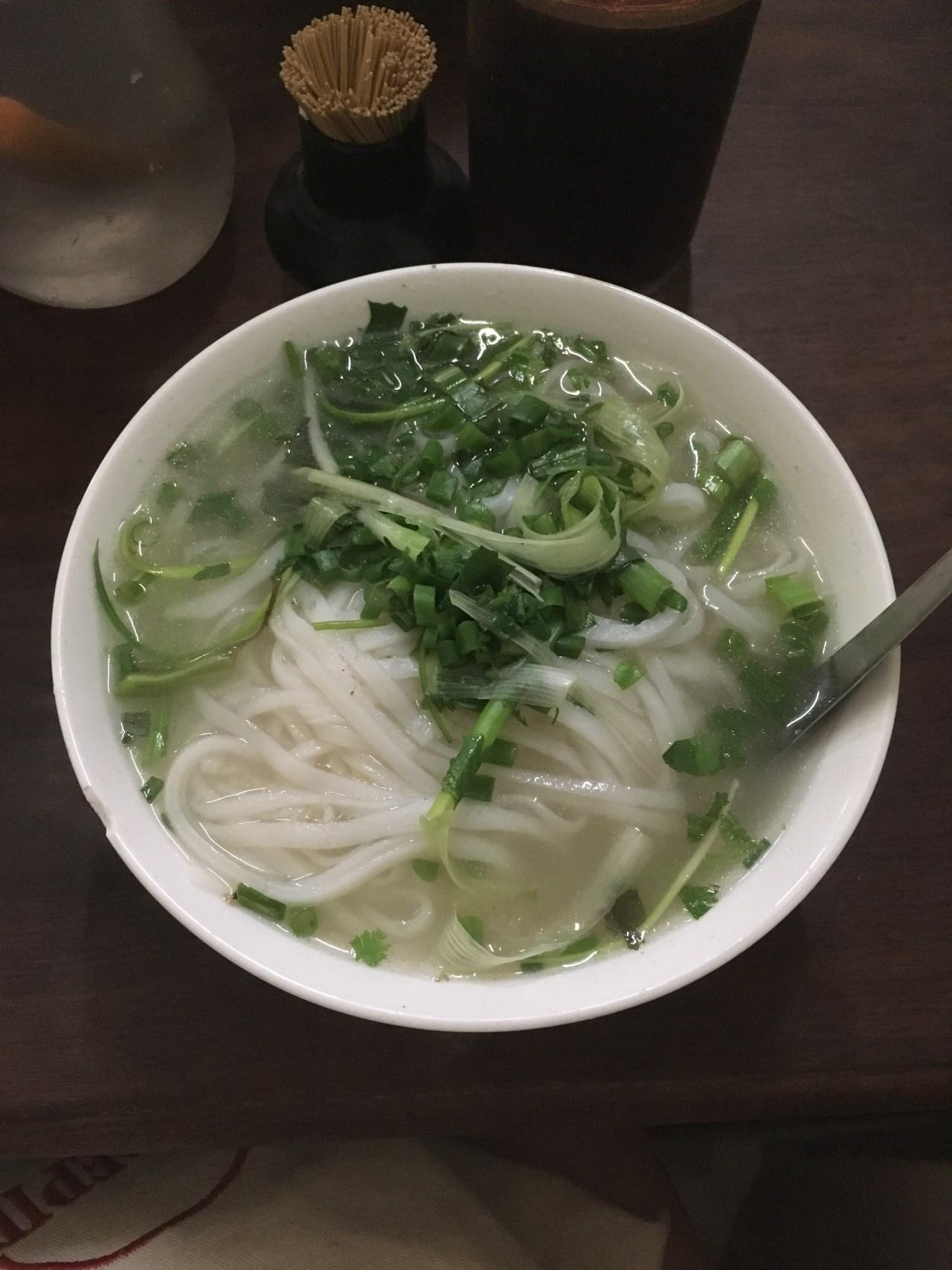 Noodles for breakfast