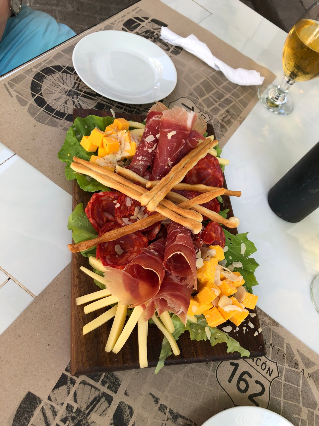 Cheese and Meats platter Chacon 162 Havana