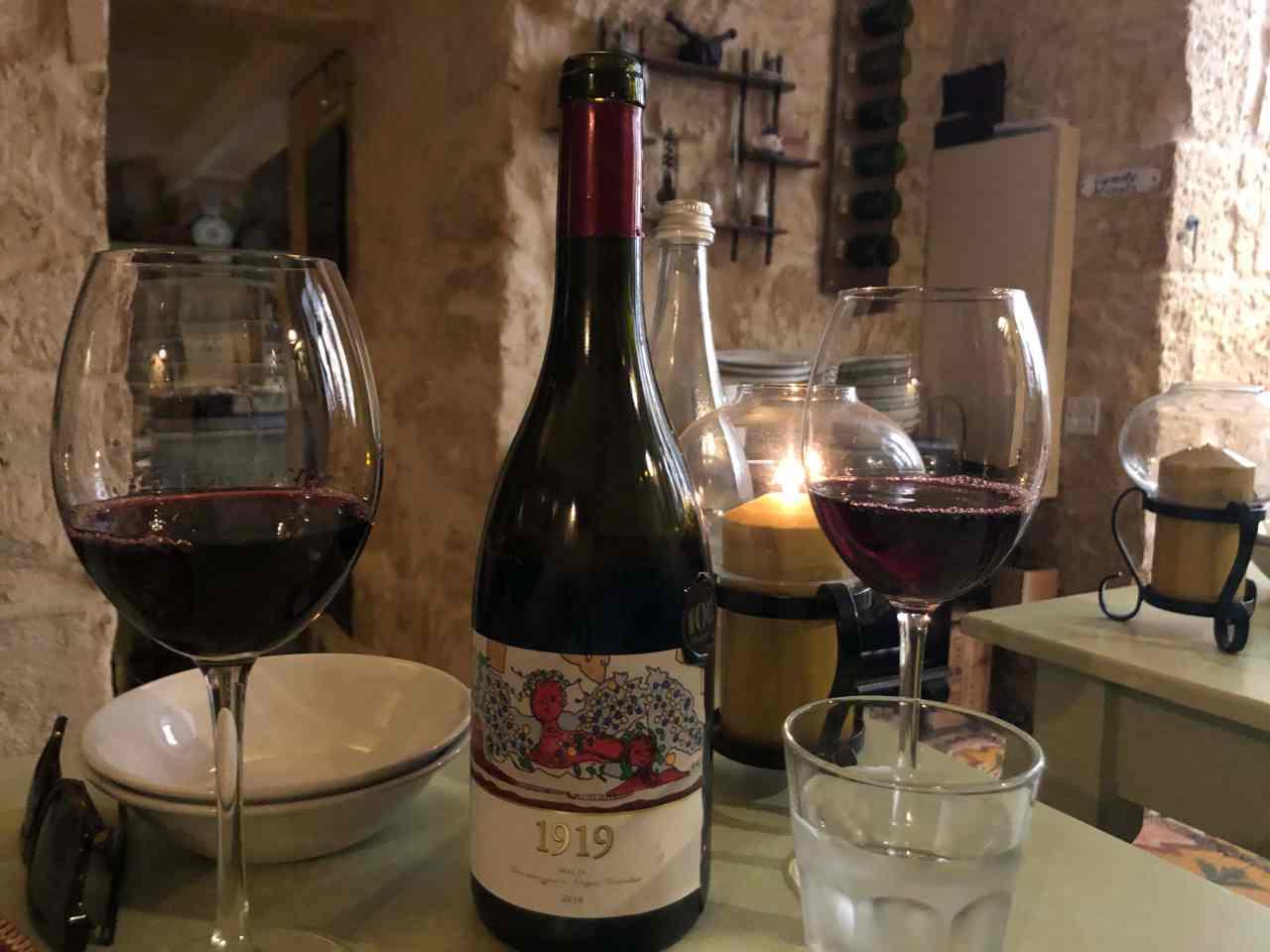 wine at Legligin
