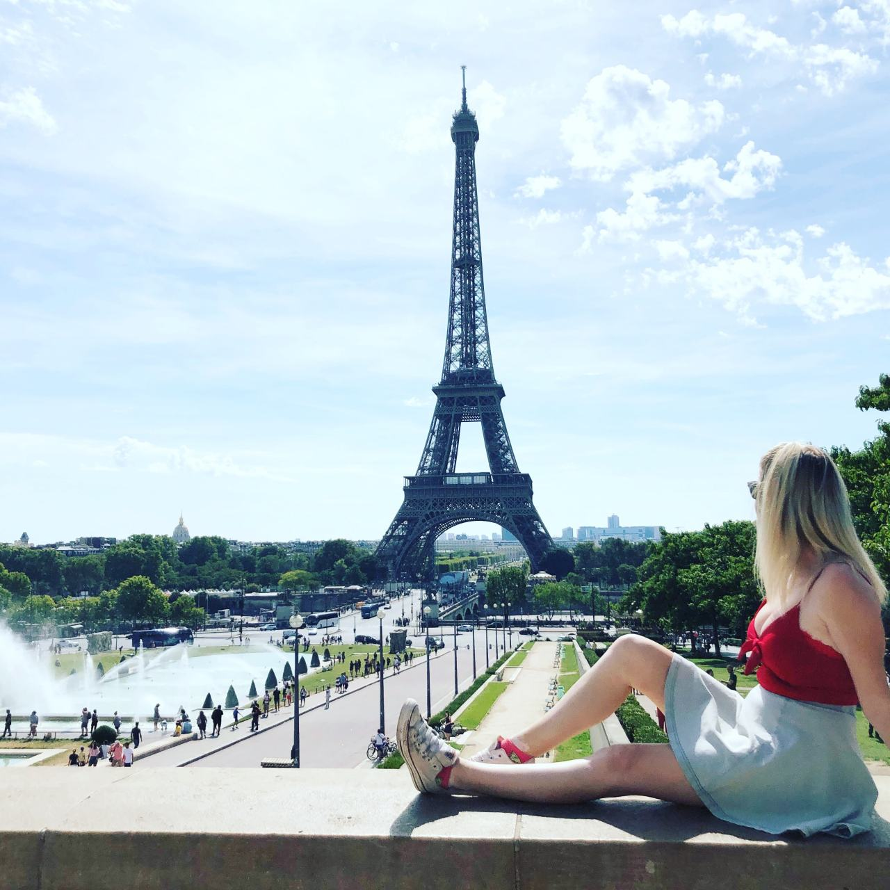 Instagram tips Eiffel Tower Paris