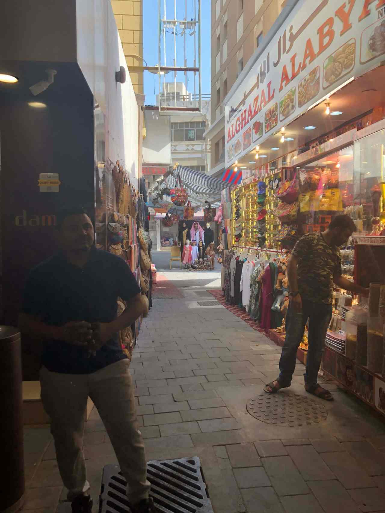Dubai souk street
