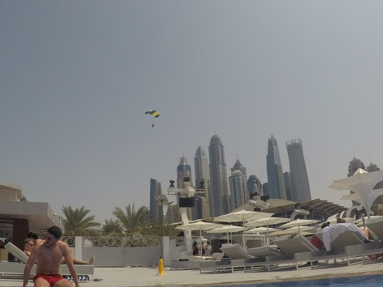 Skydivers zero gravity Dubai