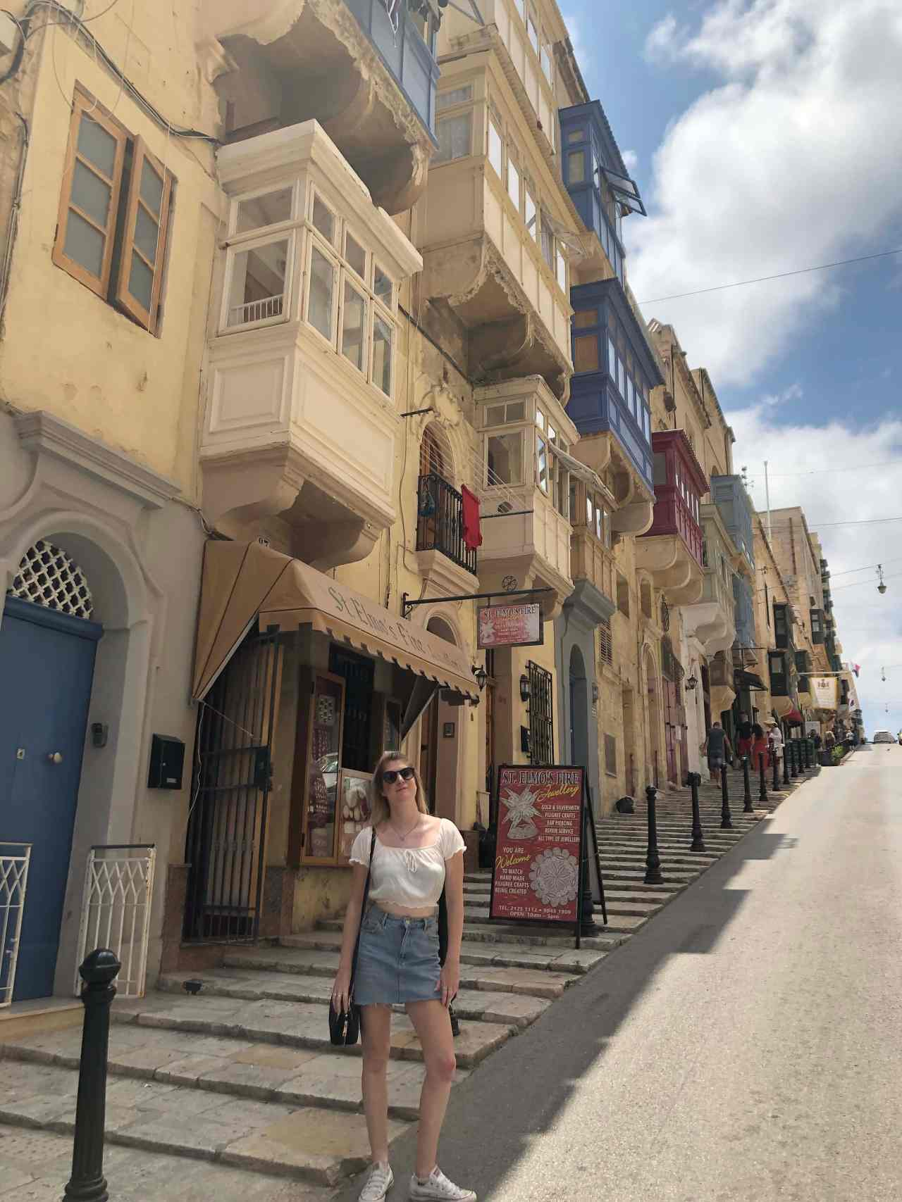 Colourful Valletta Streets