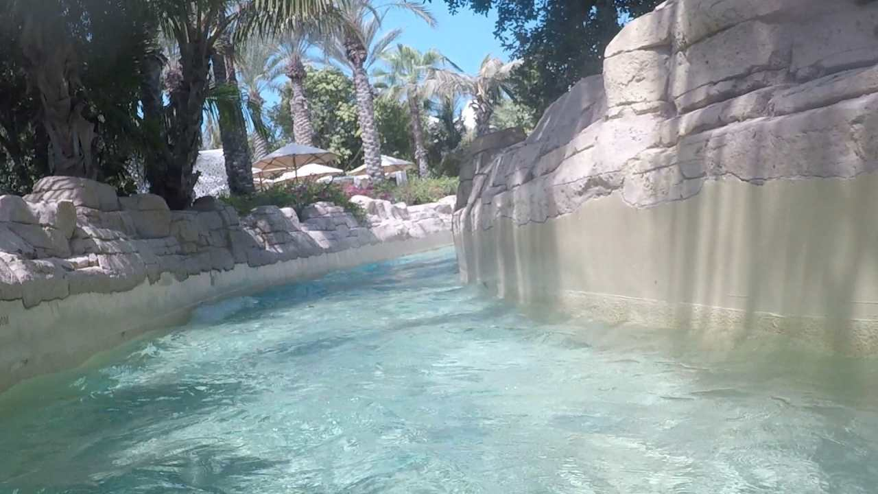 Aquaventure waterpark Atlantis Dubai rapids