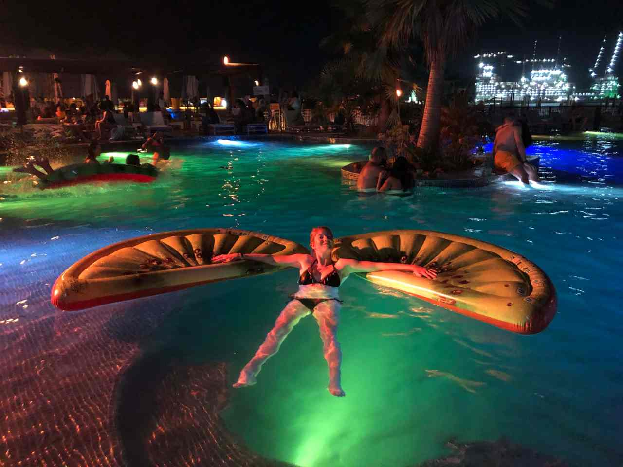Barasti tropicana pool party
