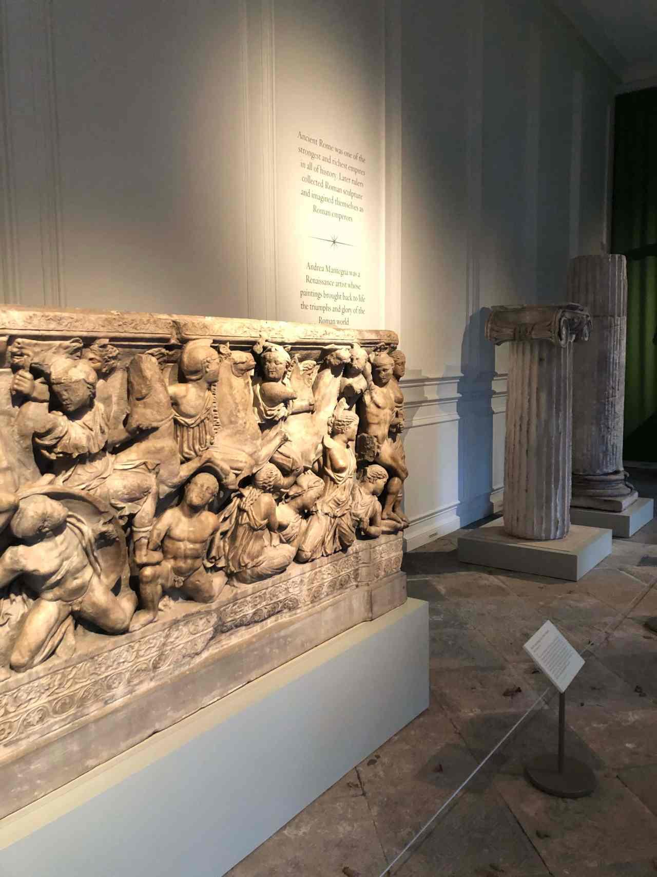 Hampton Court Palace Mantegna gallery