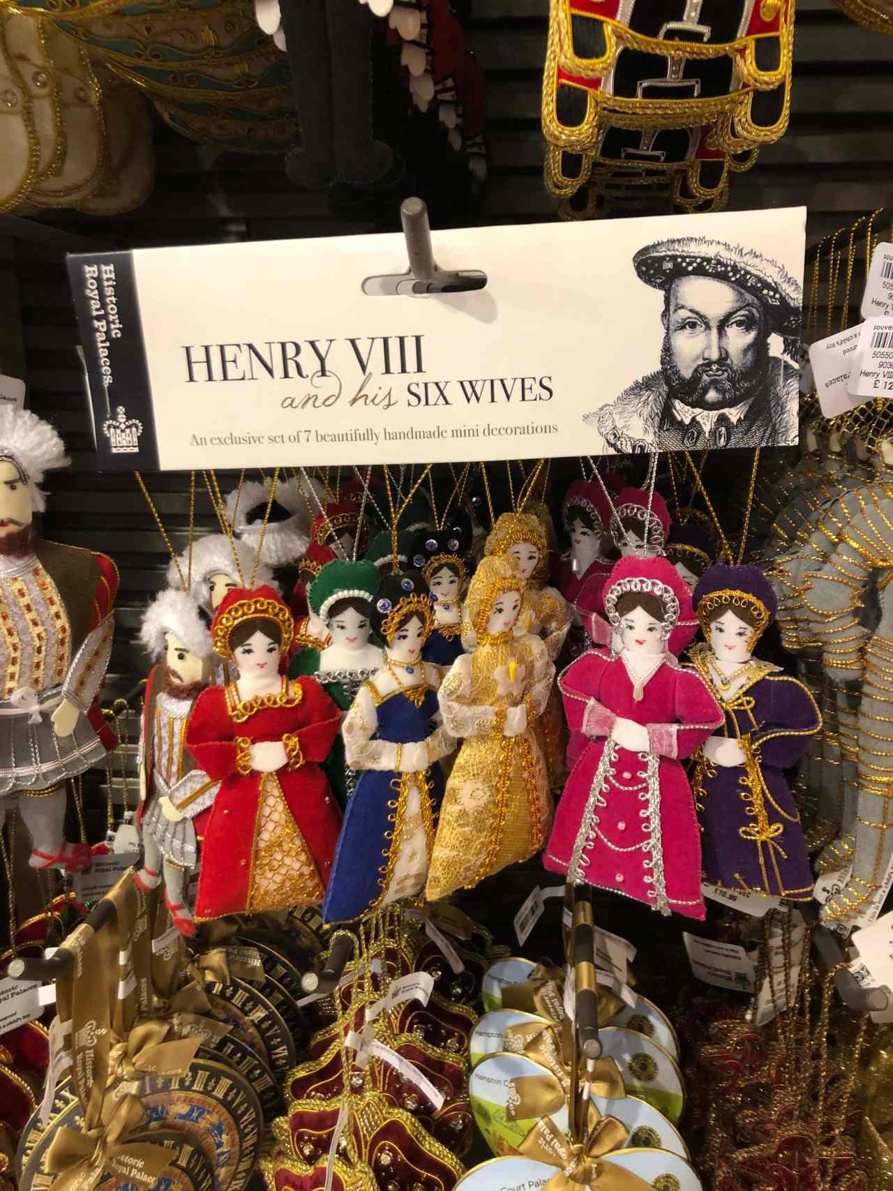 Hampton Court Palace gift shop