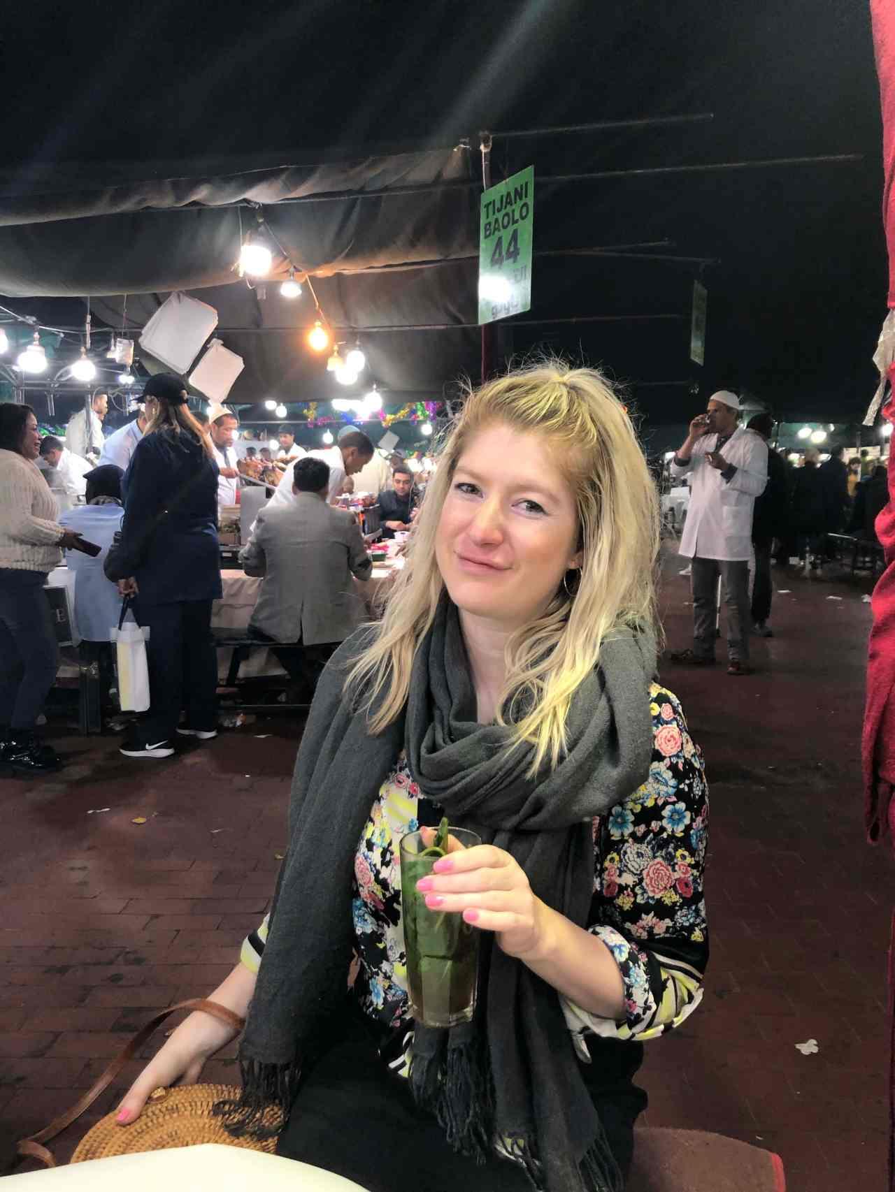 Marrakech main square night market