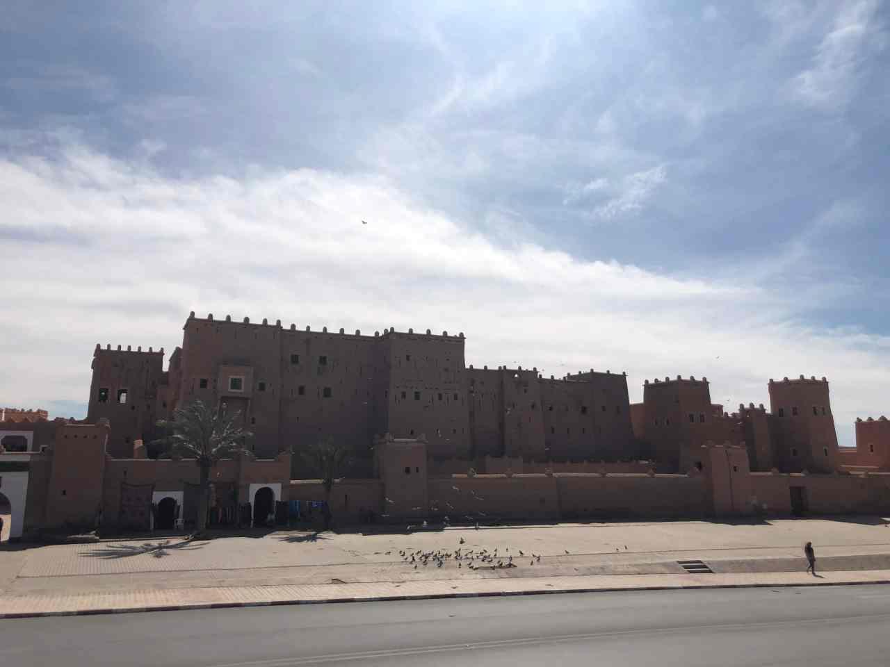 Ouarzazte city walls