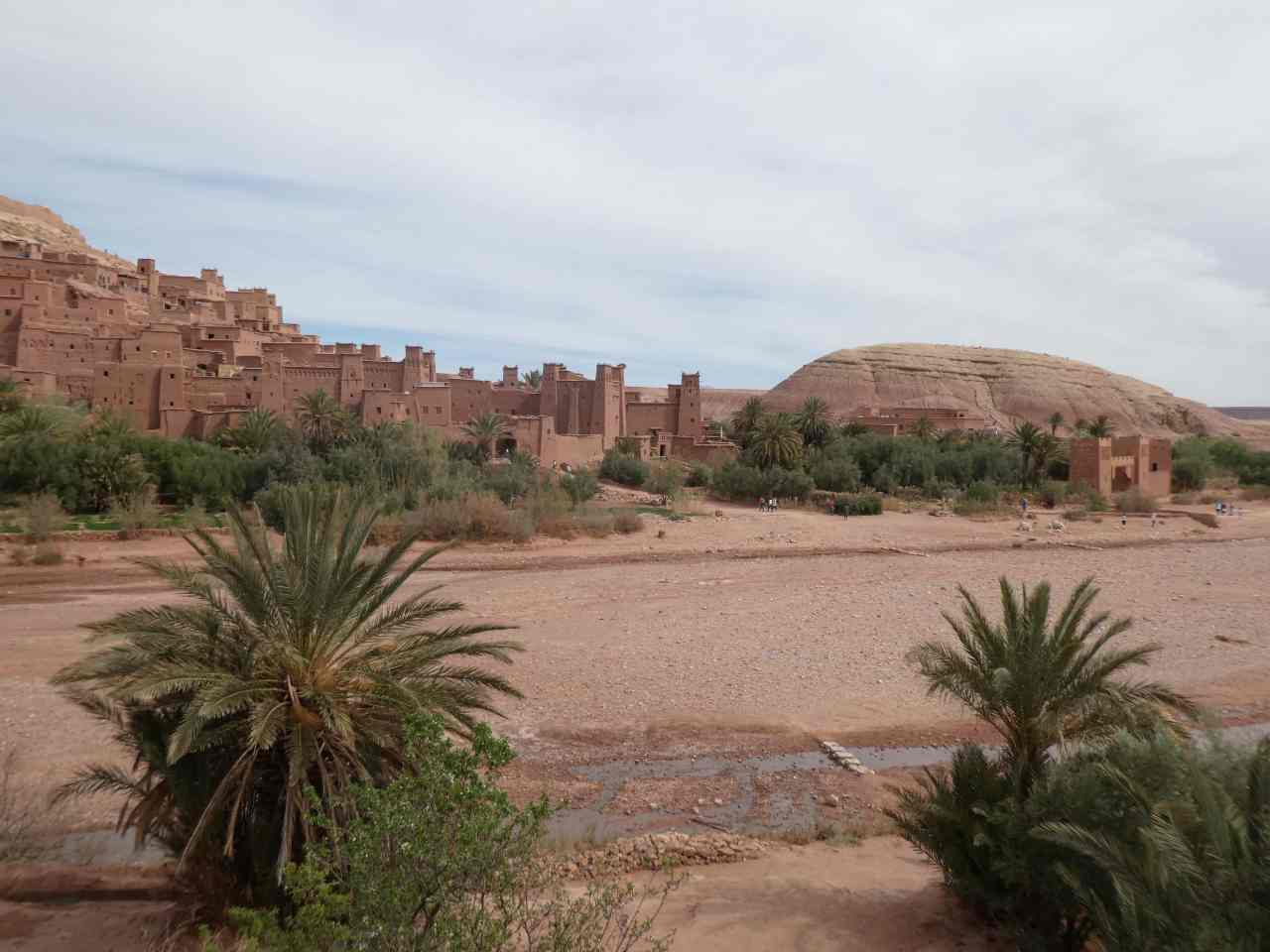 First view of Ait Benhaddou