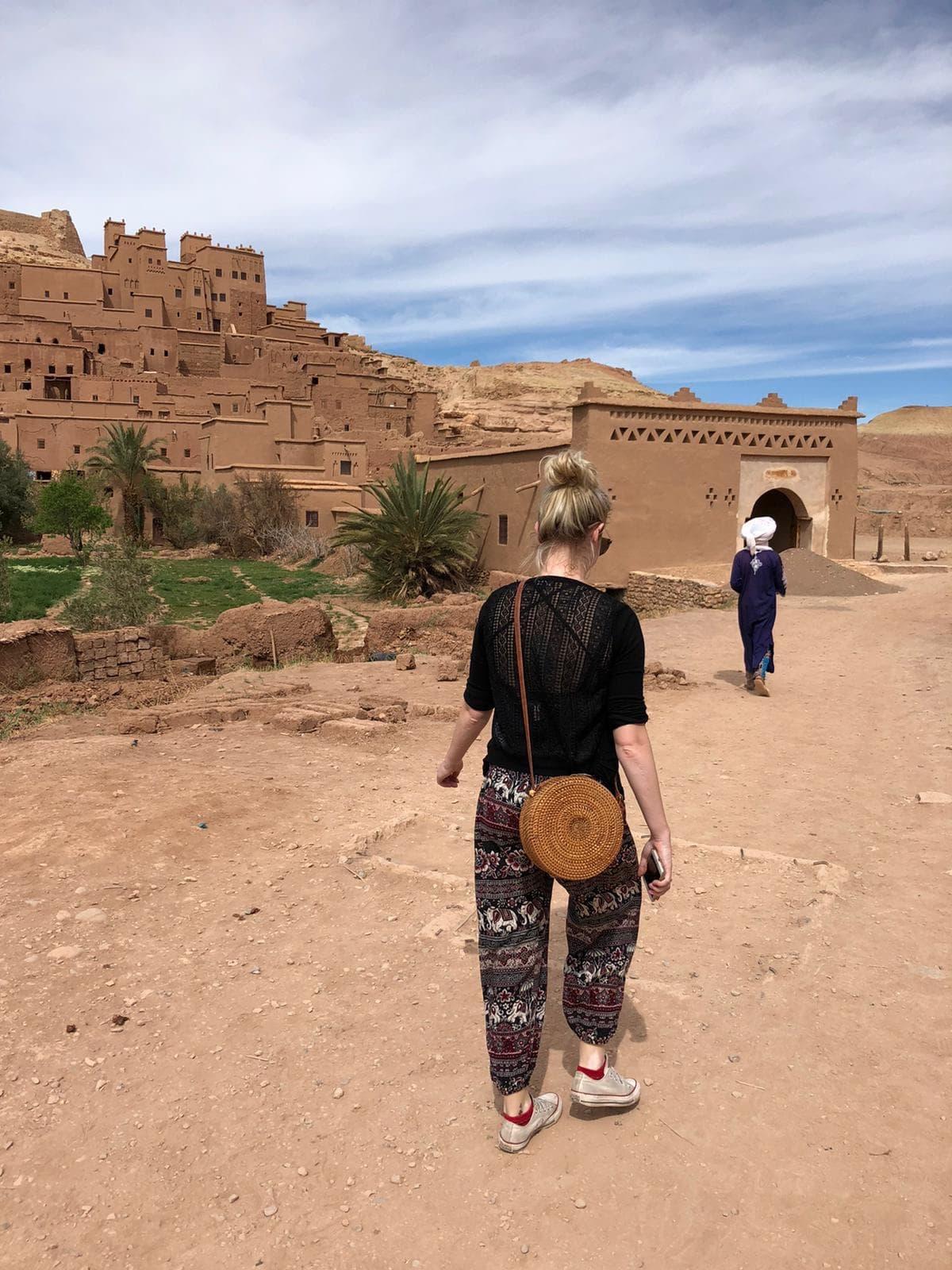 Ait Benhaddou village gate