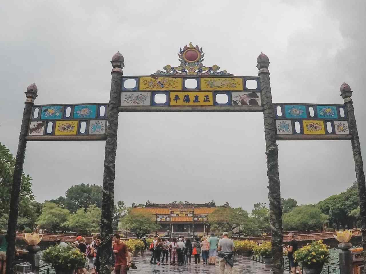 Hue Forbidden city Vietnam