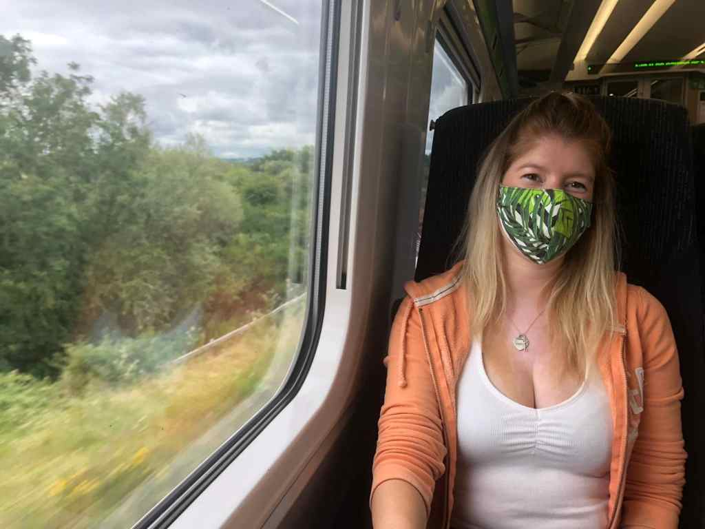 Facemasks on public transport wales