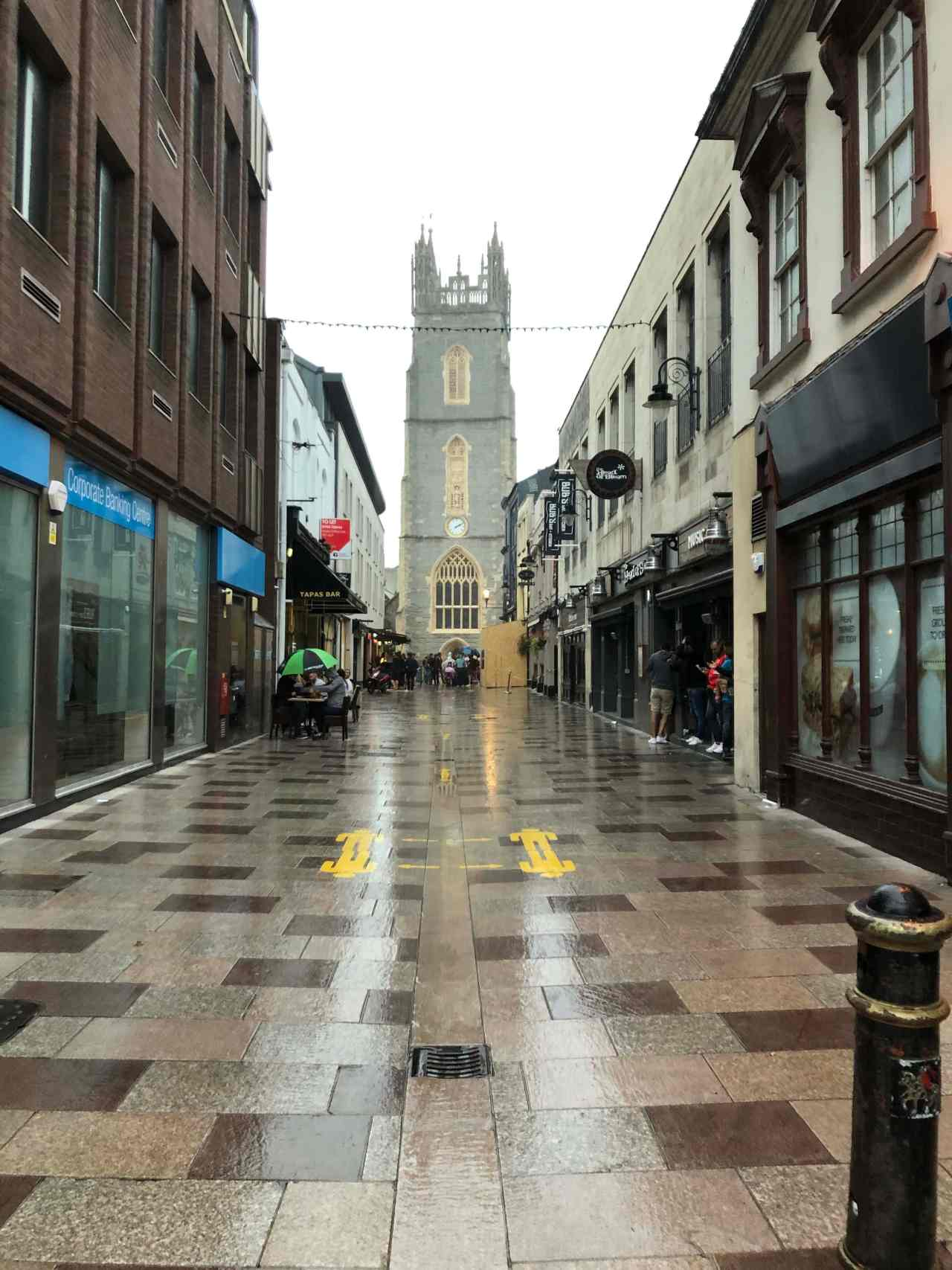 Cardiff town centre