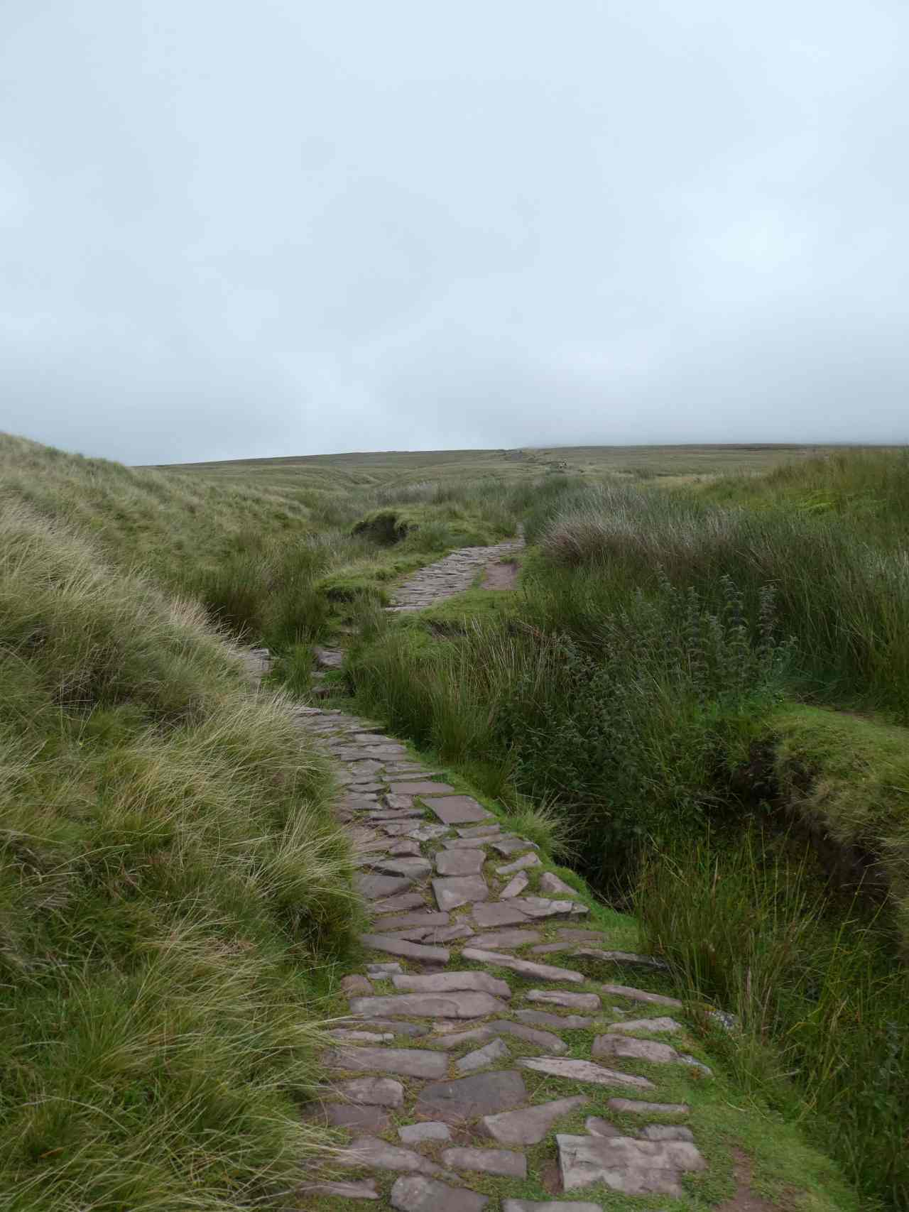 Brecon Beacons hiking trail