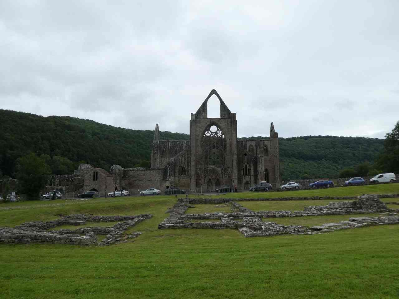 Tintern Abbey gothic windows
