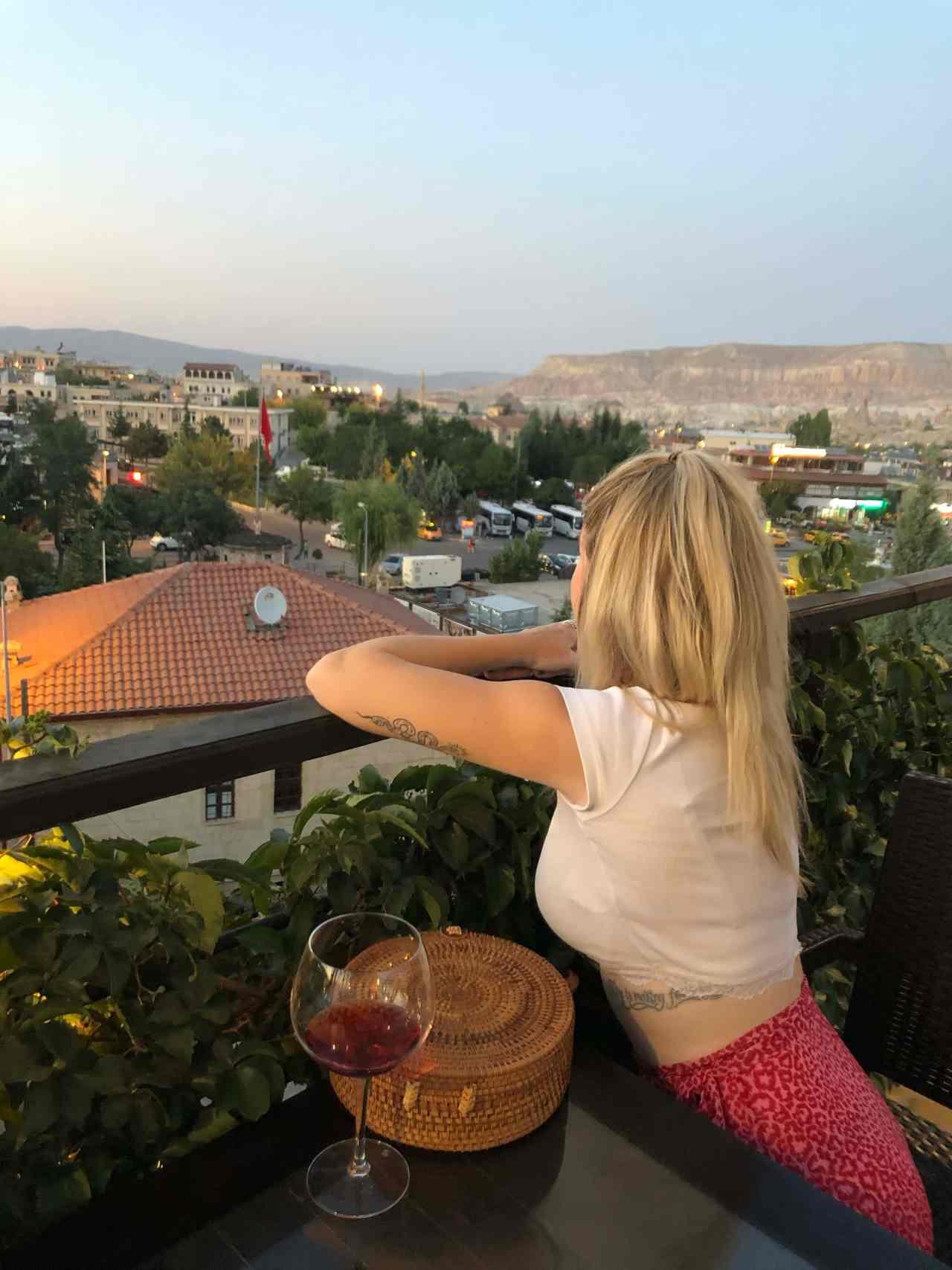 Cappadocia view point restaurant