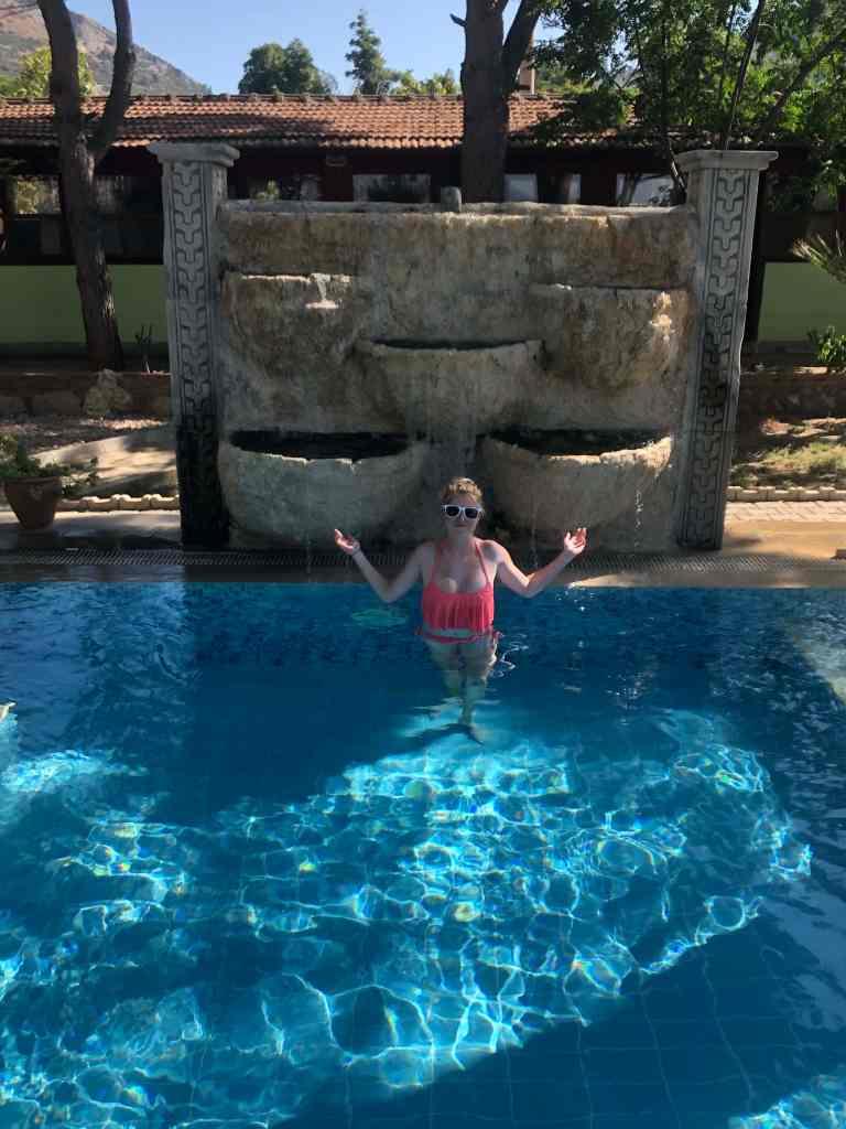 Atilla's getaway pool