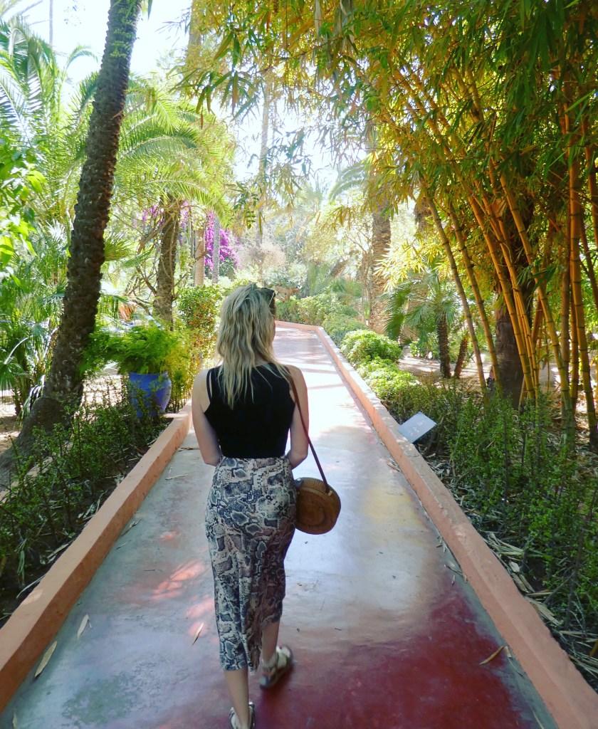 YSL gardens Marrakech