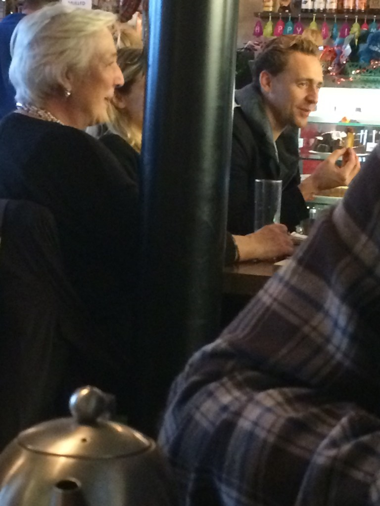 Tom Hiddleston in Suffolk