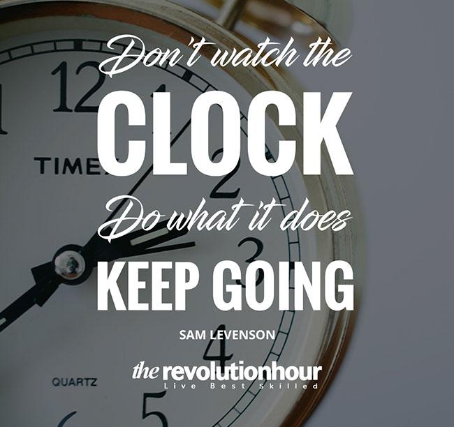 Don't Watch Clock