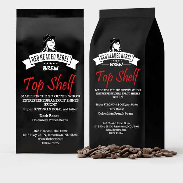 RHR Brew Top Shelf Coffee - Whole Bean - 2 Pack