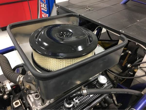 RHR Cool Air Box Installed (3 Sides Ideal For Enclosed Hood)