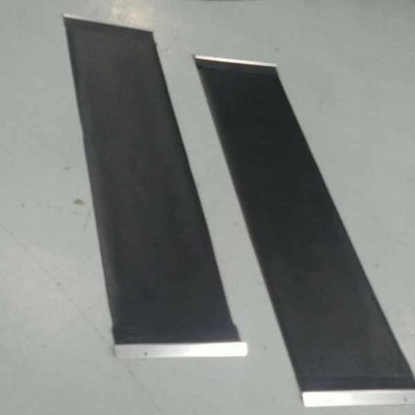 Black Rear Mud Shredders with Hardware