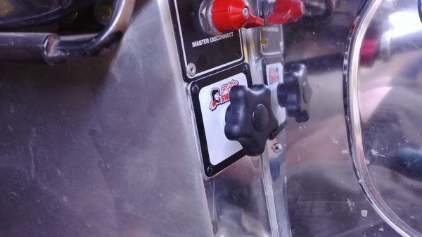 Flat Panel Idle Adjuster Mounted