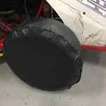 """RHR 28"""" Tire Covers for Race Cars"""