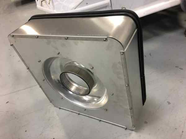 RHR Cool Air Box - 4 Sides on Car
