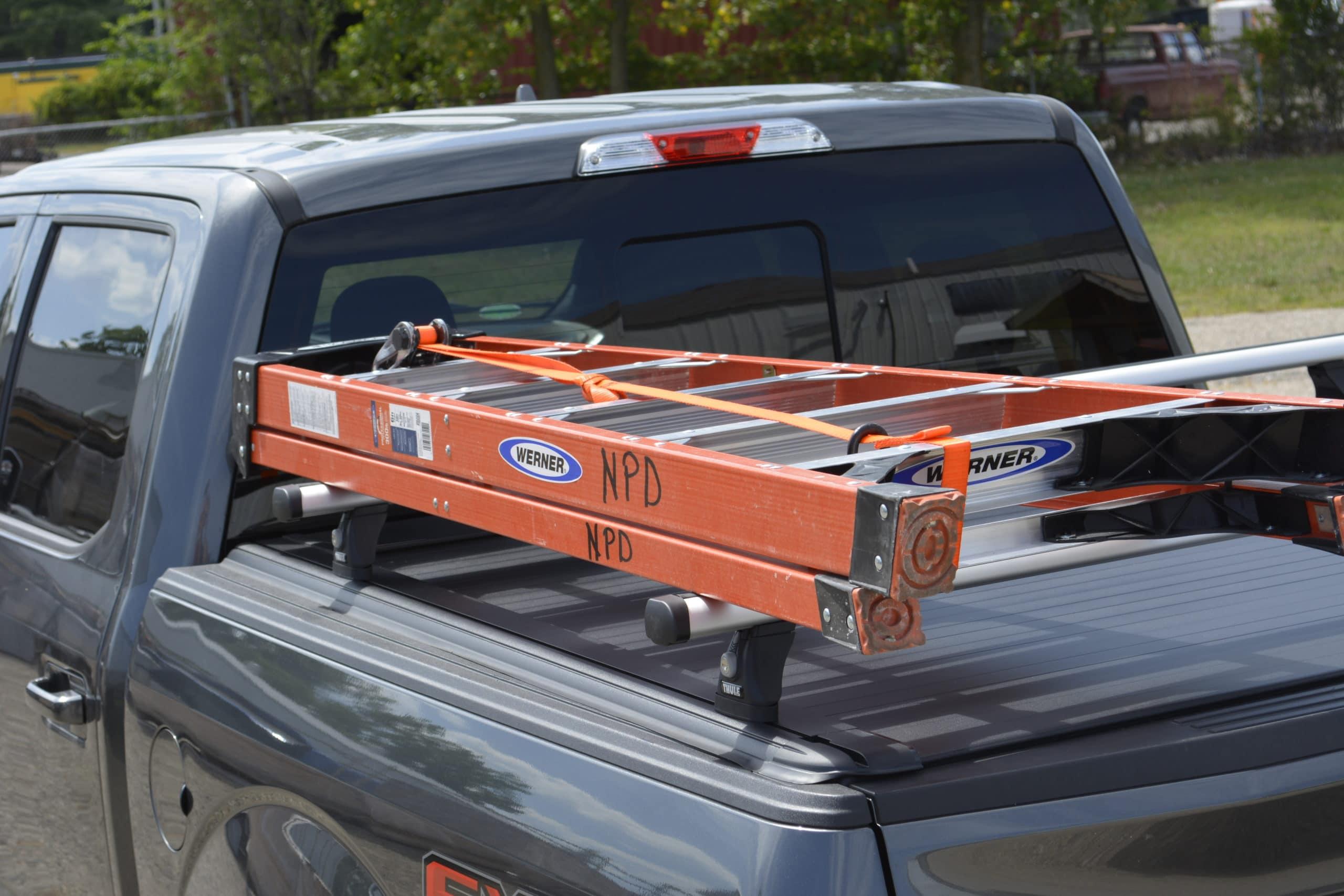 thule probar rack for tonneau cover w t slot channel rails