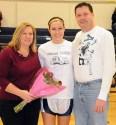 Jill Krish with her mother Dawn and father John Krish