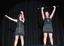 """Nicole Cook and Alyssa Collins sang """"Nowadays"""" photo by Sami Murray"""