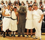 Bulldog and togas: what else do we need?