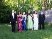 Colin Toohey, Brittianna Garcia, Emily Sylvester, Ashley Murray, Tamika Blount, and Cameron Toohey