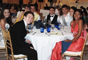 Joe Palana, Gabbi DerKinderen, Tim Lorgeree and his date, Derek Alves, Chris Carchedi,