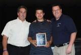 Mr.Graziano and Mr.Damon with Senior Owen Lund