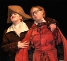Iago persuades Roderigo in a scene from Othello