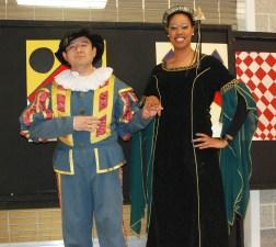 The Spanish Ambassadors: Mr. Jorge Moscoso and Ms. Patrice Rose, Spanish teachers at RHS.