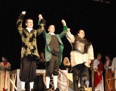 Soneteers: (left to right) John Glennon, Ryan Sugrue, Chrissy Daly