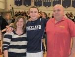 Gerard Saucier with his parents