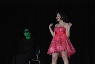 "Genesis Rojas and Sophie McClellan perform ""Popular"" from the musical ""Wicked"""