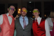 Eddie Yeadon, Rich MacAllister, and Cameron Stuart